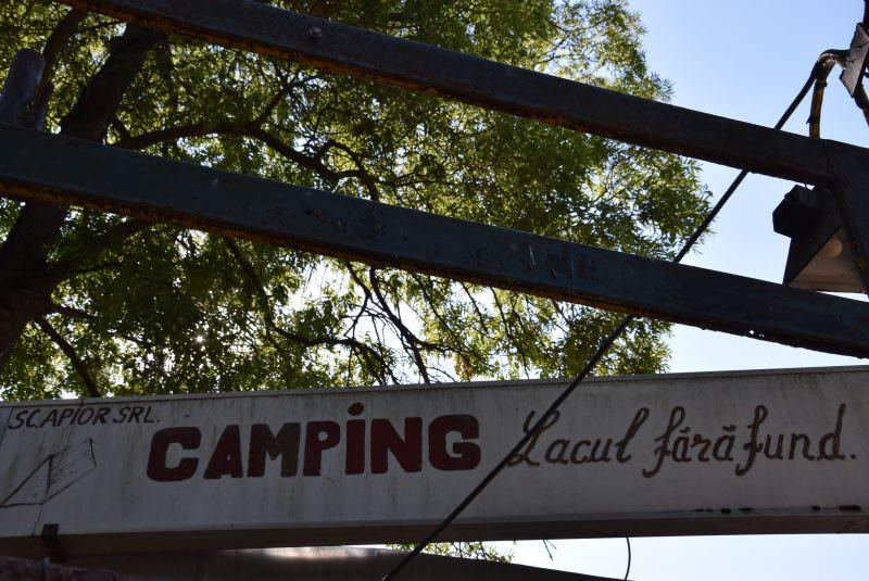 foto ocna sibiului camping lacul fara fund