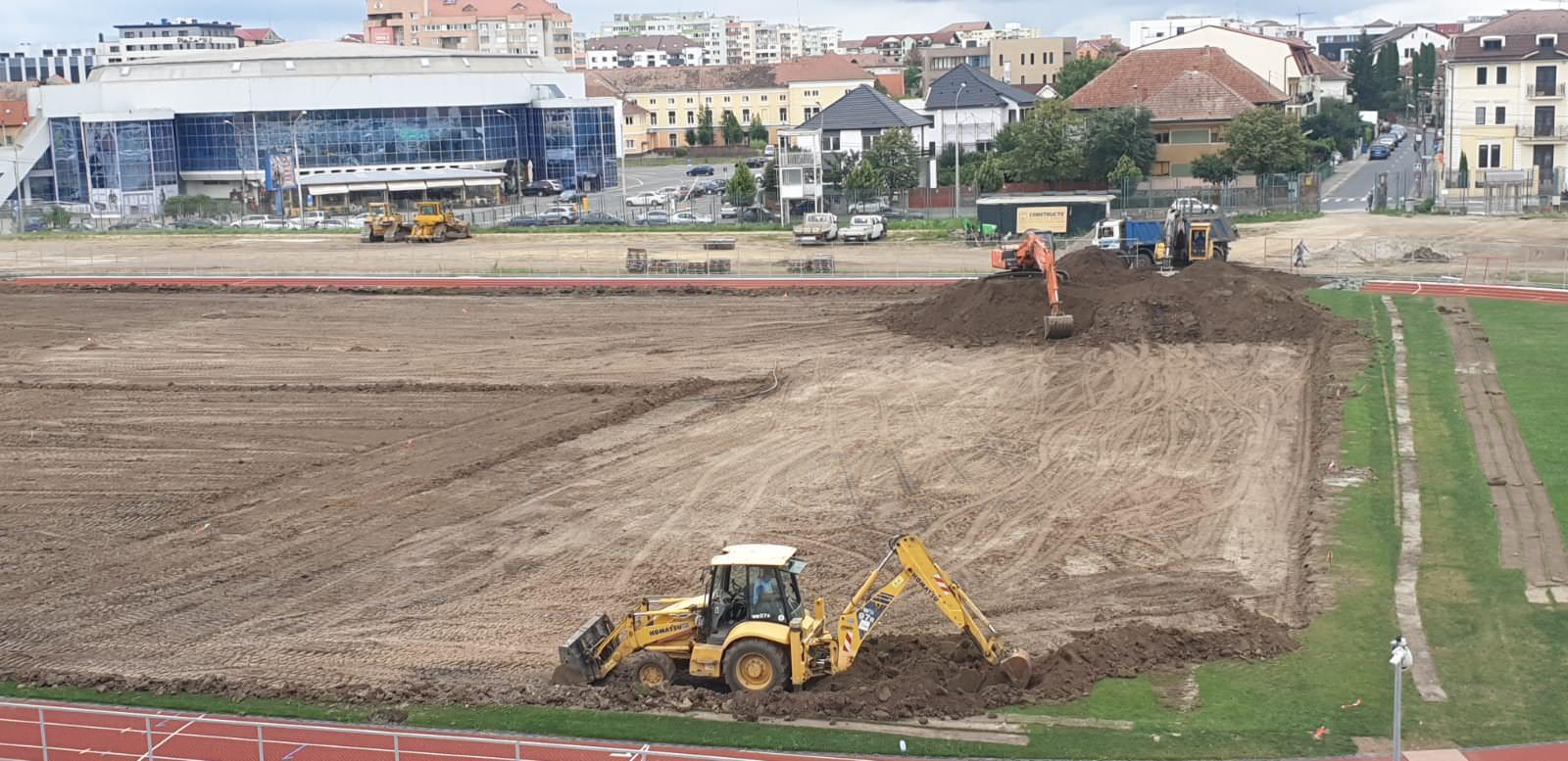 stadion municipal lucrari teren 1