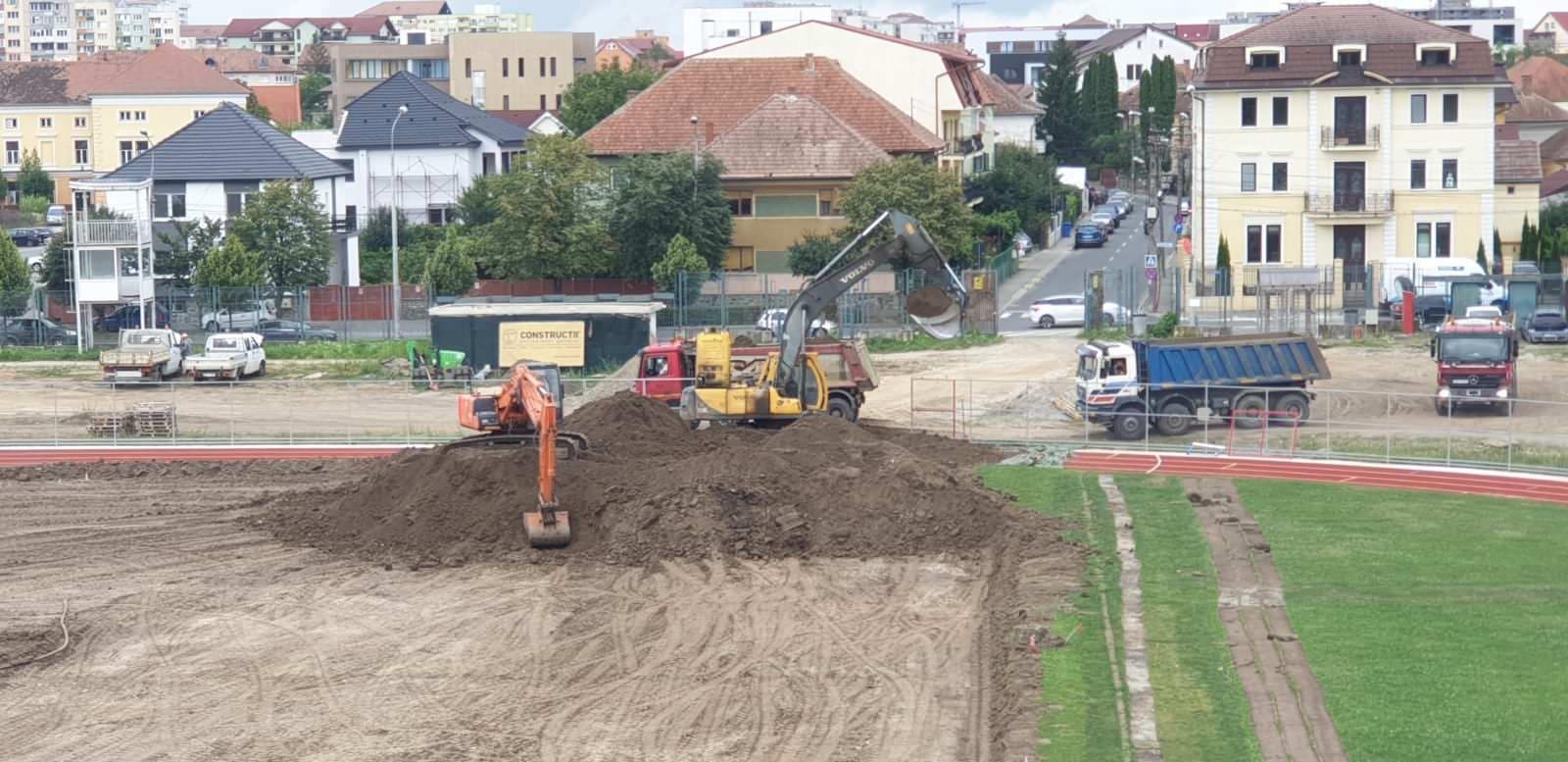 stadion municipal lucrari teren 4