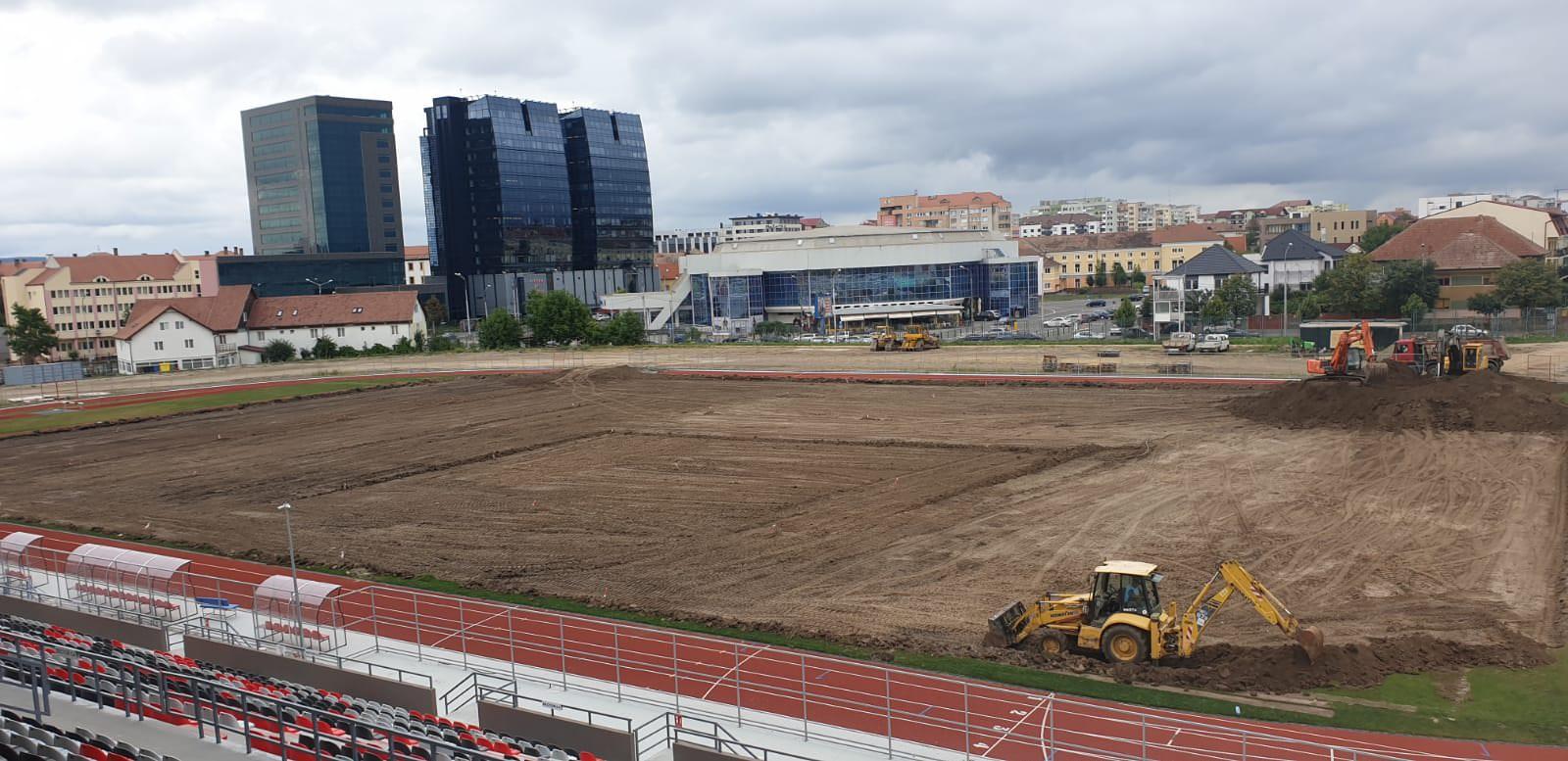 stadion municipal lucrari teren 6