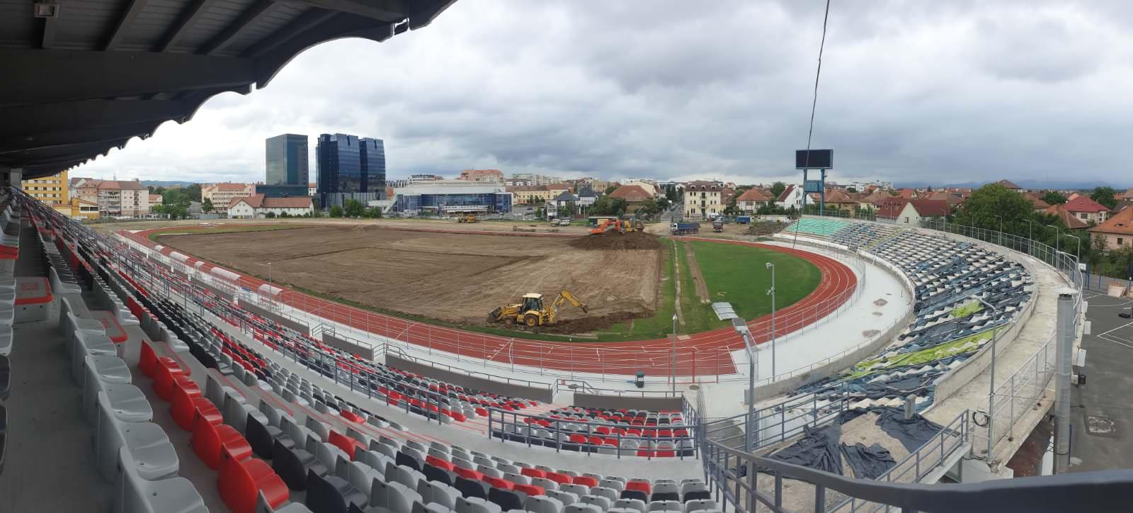 stadion municipal lucrari teren 7