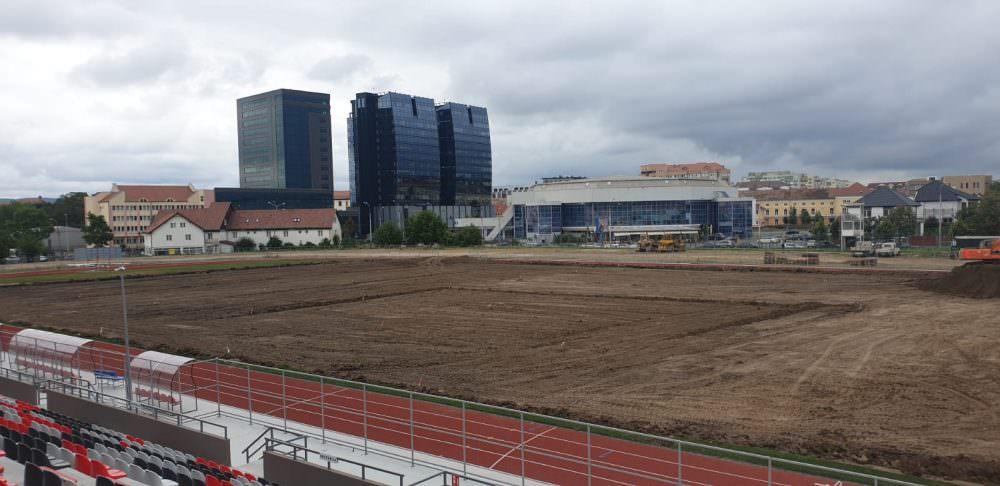 stadion municipal lucrari teren 9