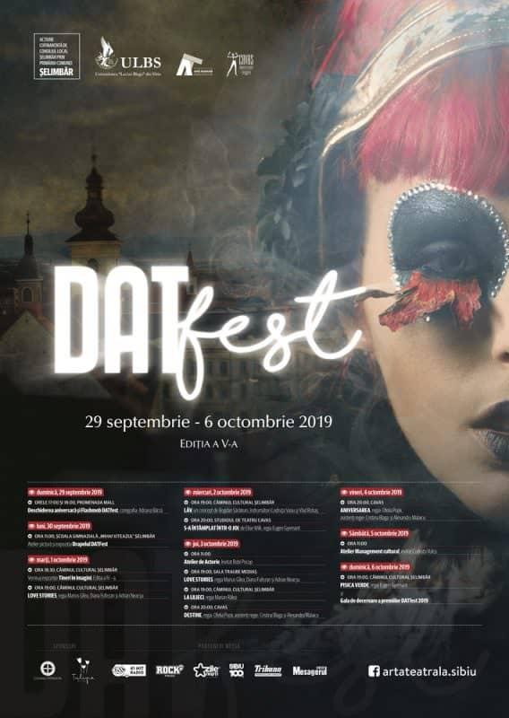 DATFest 2019 Poster Program Sibiu