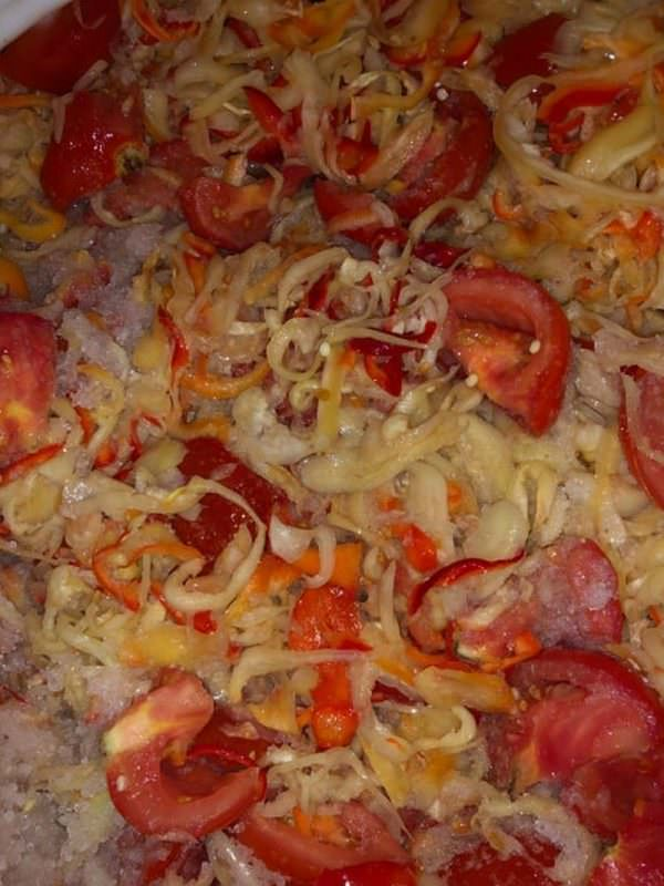 Salata ardei si rosii
