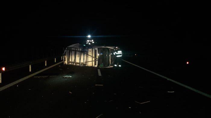 accident autostrada 7