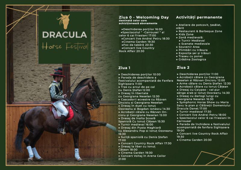 program dracula horse