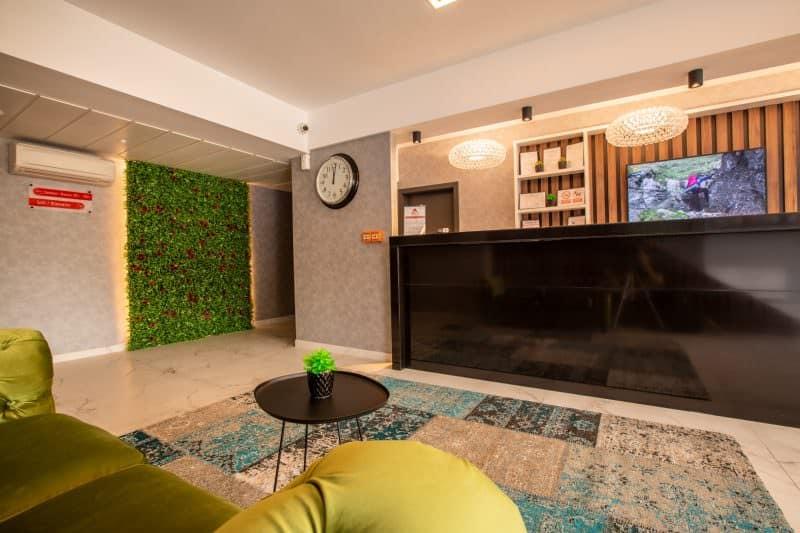 Bach Apartments receptie
