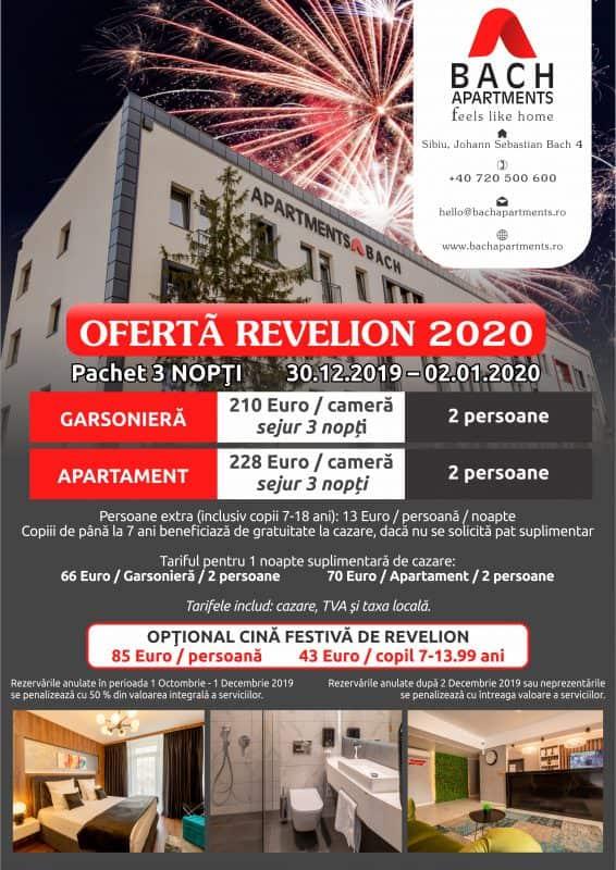 Oferta revelion Bach A4 1