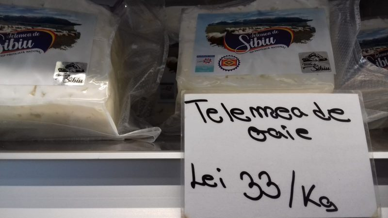 foto telemeaua de sibiu la Brânzărie