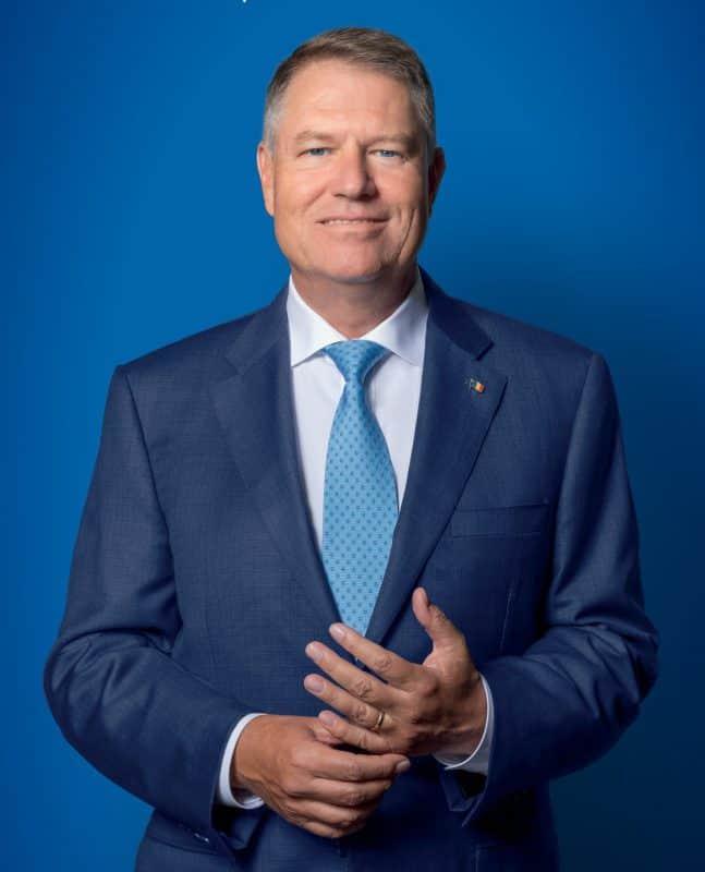 foto Klaus Iohannis prezidentiale