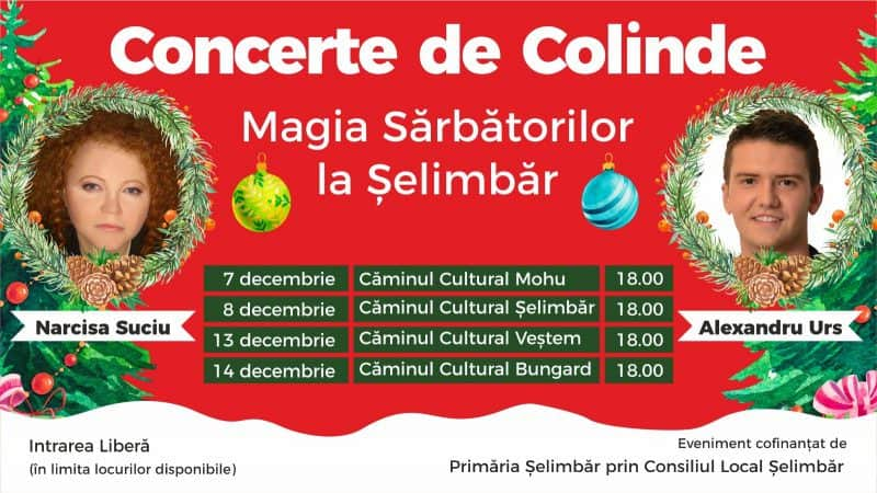 Concert colinde selimbar