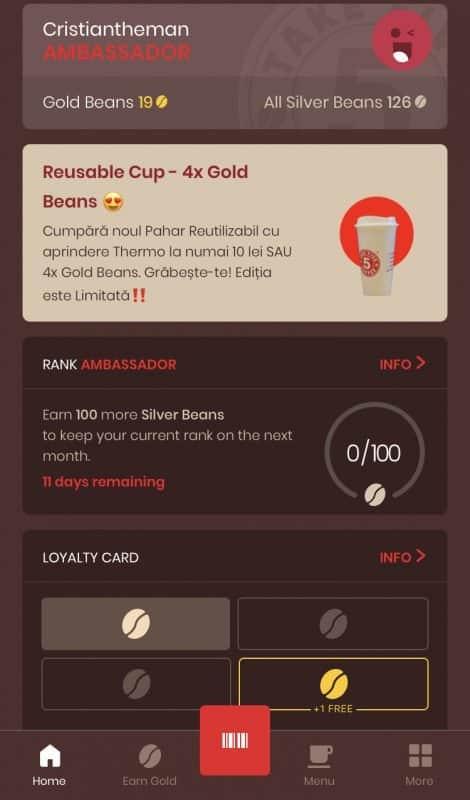 Take 5 Coffee – app3
