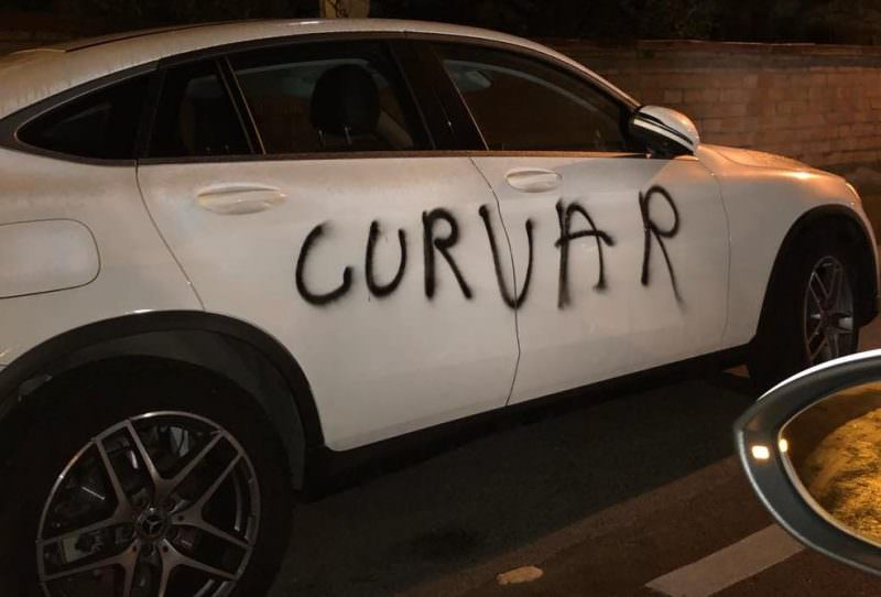 masina vandalizata 2
