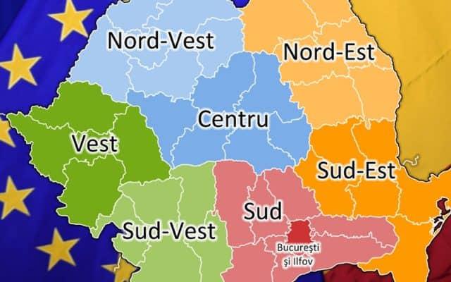 Începe regionalizarea României – Județele înlocuite cu regiuni în  organigramele ministeriale   Ora de Sibiu
