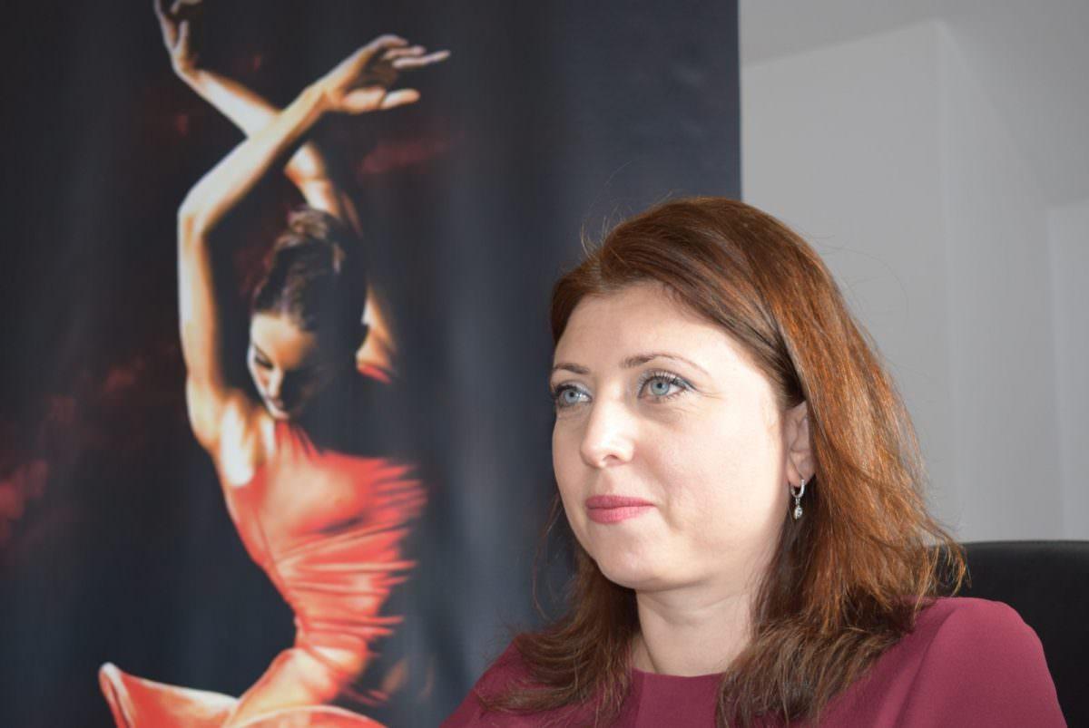 foto coordonatoare balet ramona palade