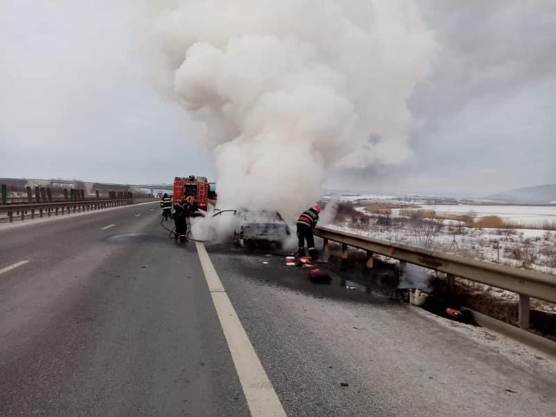 incendiu autostrada1