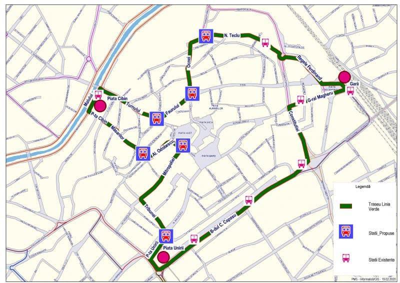 Traseu Linia Verde 3