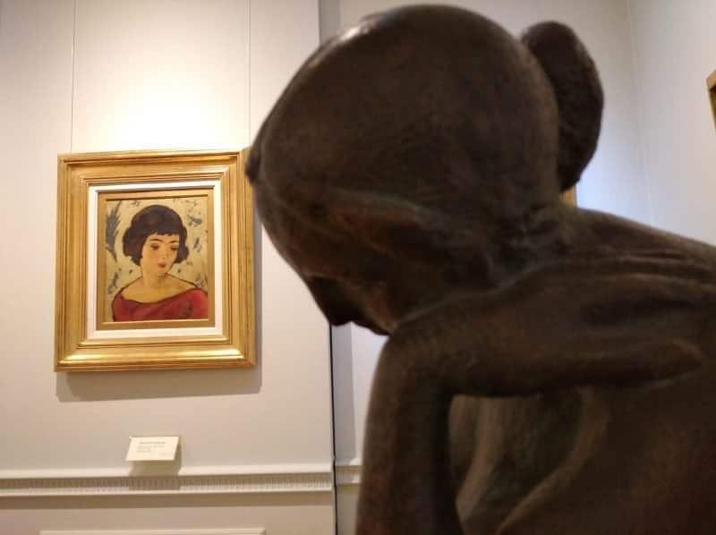 foto muzeul brukenthal tablou tonitza
