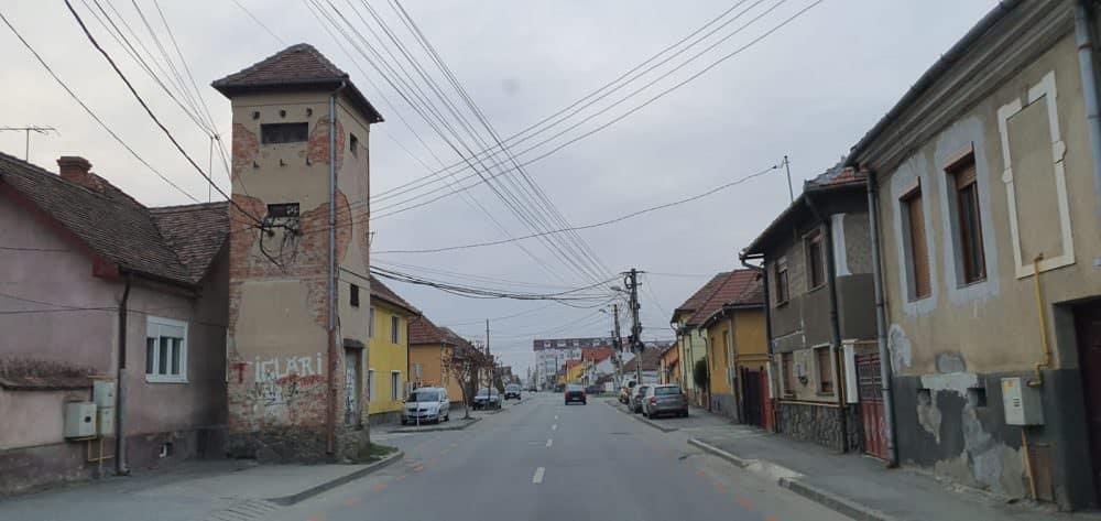 foto strada sibiu goala