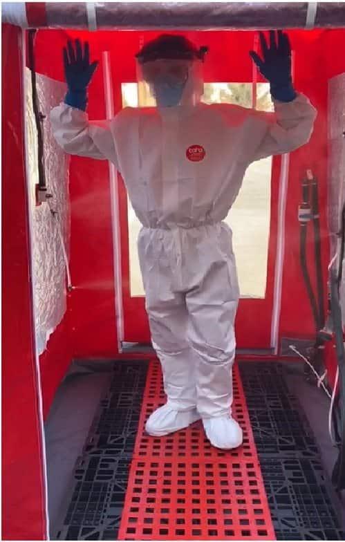Cabina dezinfectie ATI