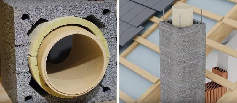 3 cos ceramic manta beton izolat