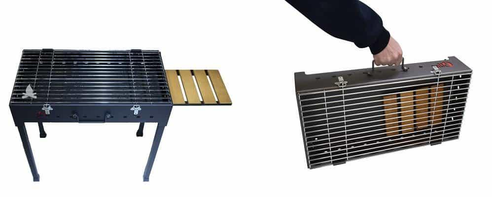 2 gratar grill portabil maner ieftin