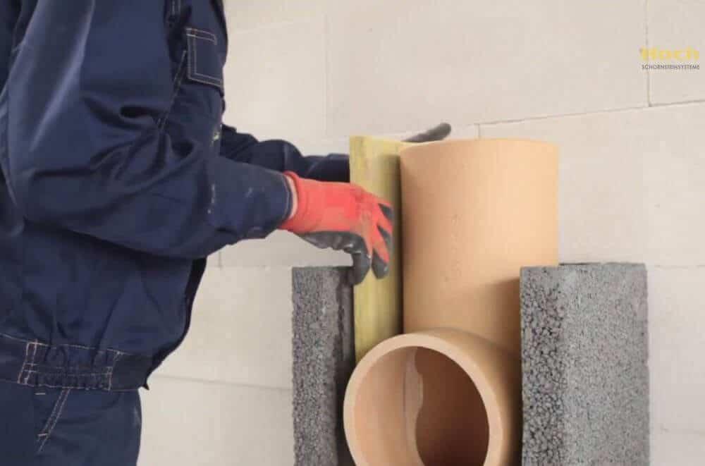2 instructiuni montaj cos de fum ceramic hoch zidire horn