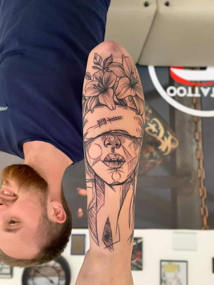 red tattoo cristi nitu 7