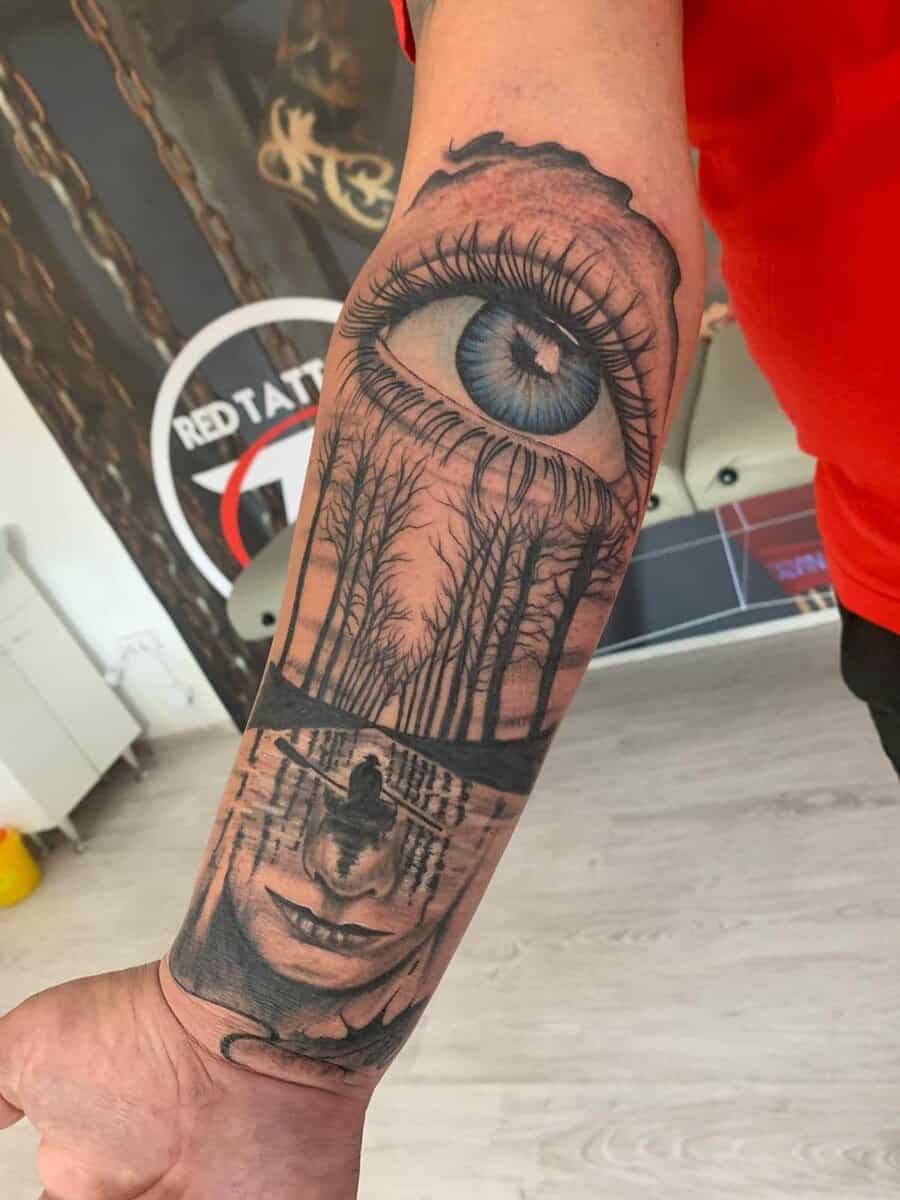 red tattoo cristi nitu 8