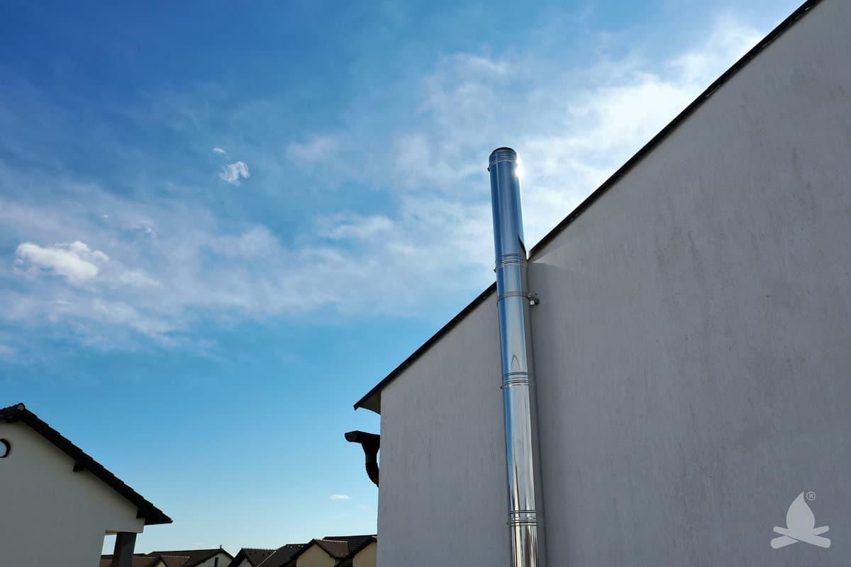 4 cos de fum inox vektor