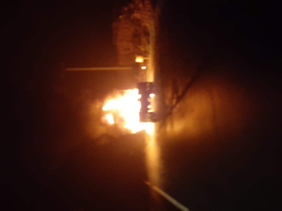 incendiu tractor 4