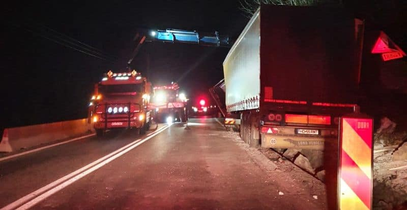 accident valea oltului camion noapte 2