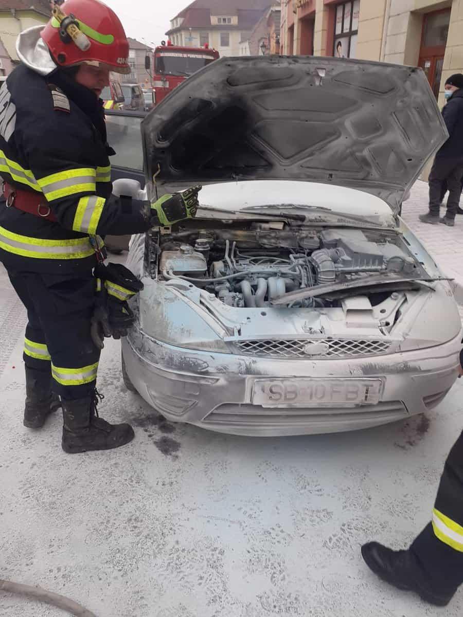 incendiu auto 1
