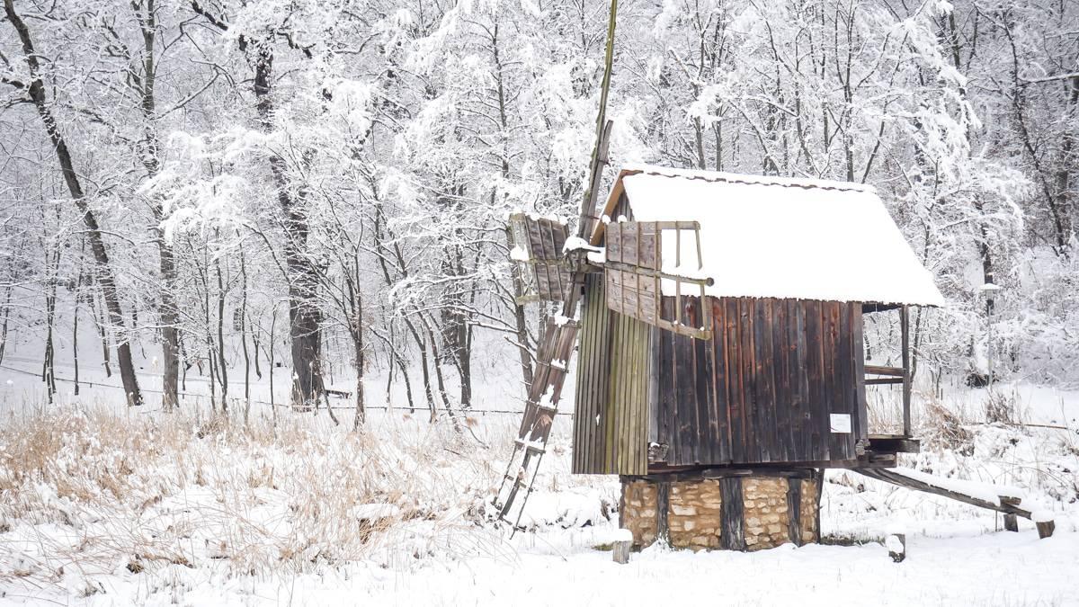 Muzeul Satului Iarna 17