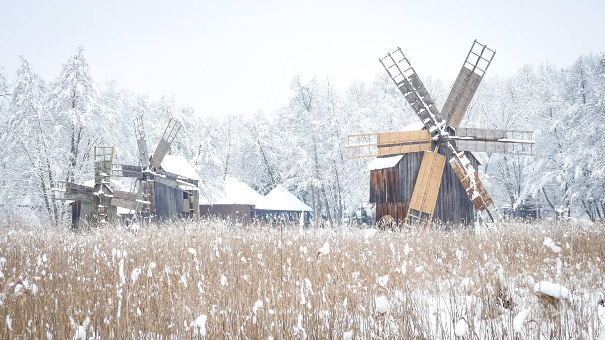 Muzeul Satului Iarna 18
