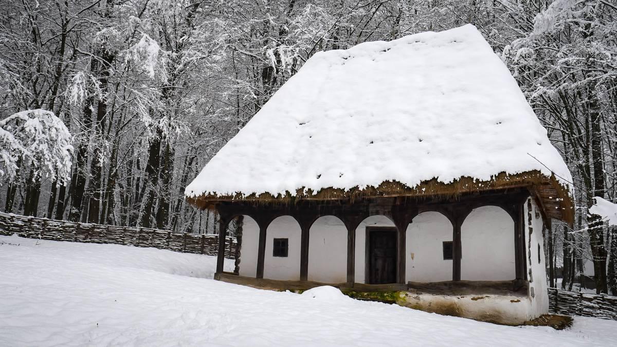 Muzeul Satului Iarna 26