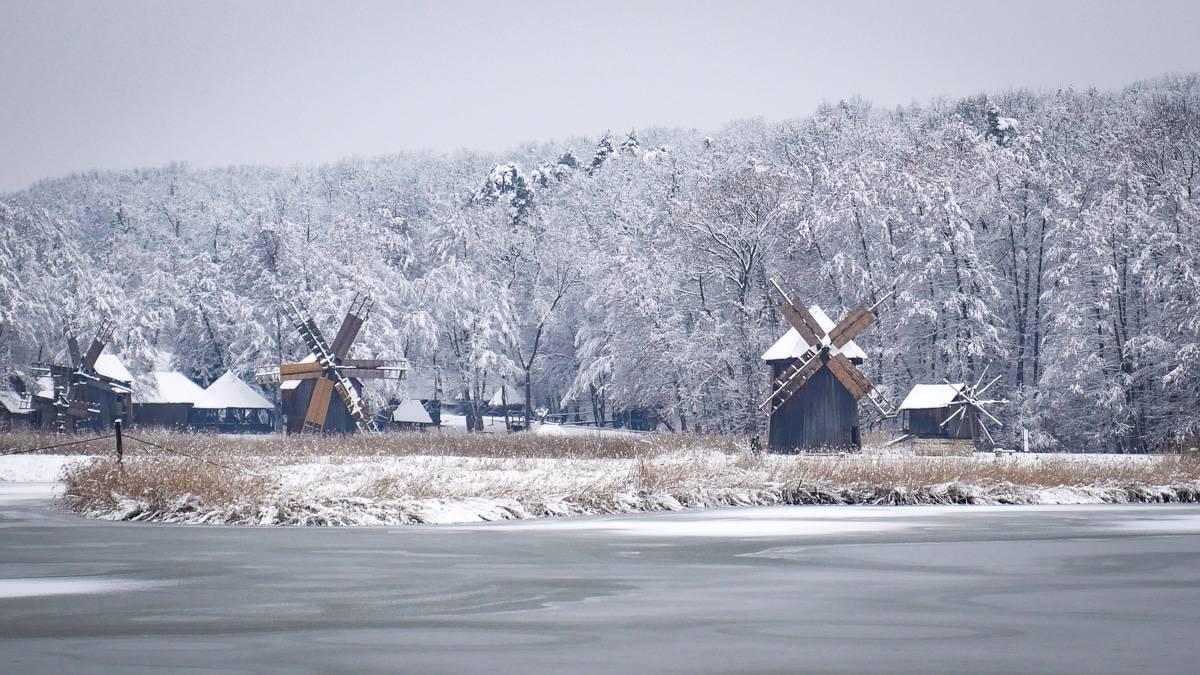 Muzeul Satului Iarna 3