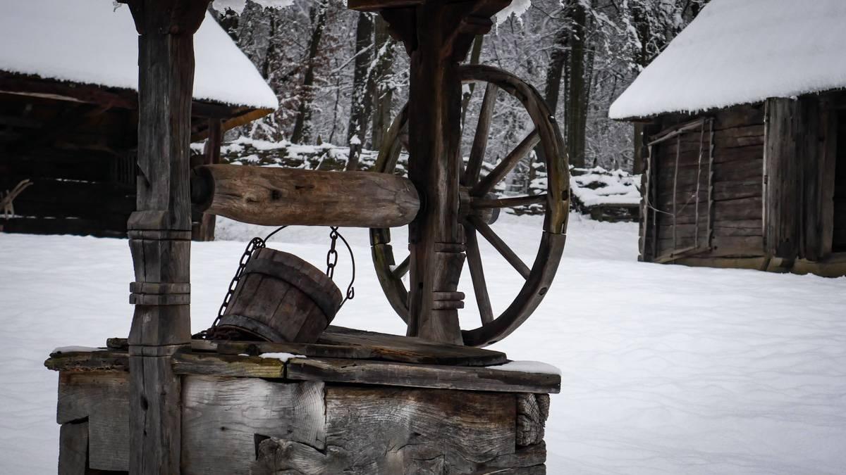 Muzeul Satului Iarna 30