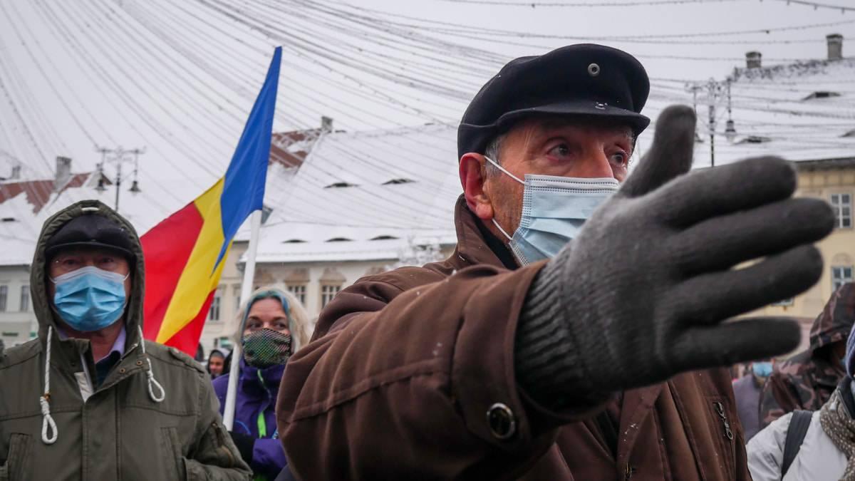Protest Gunoaie Piata Mare 14