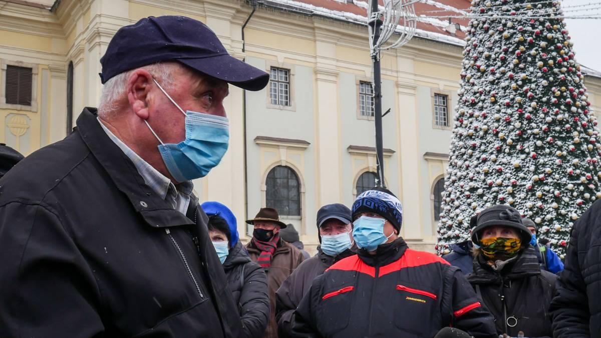 Protest Gunoaie Piata Mare 16