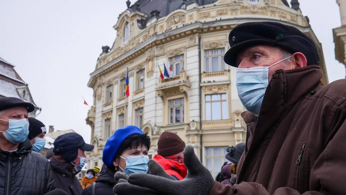 Protest Gunoaie Piata Mare 19