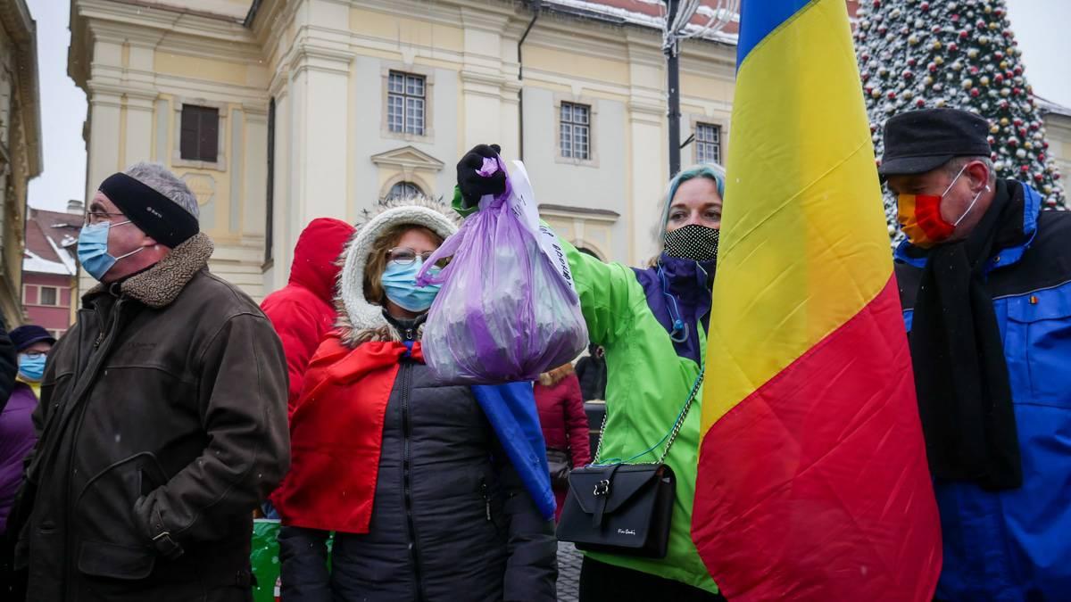 Protest Gunoaie Piata Mare 20
