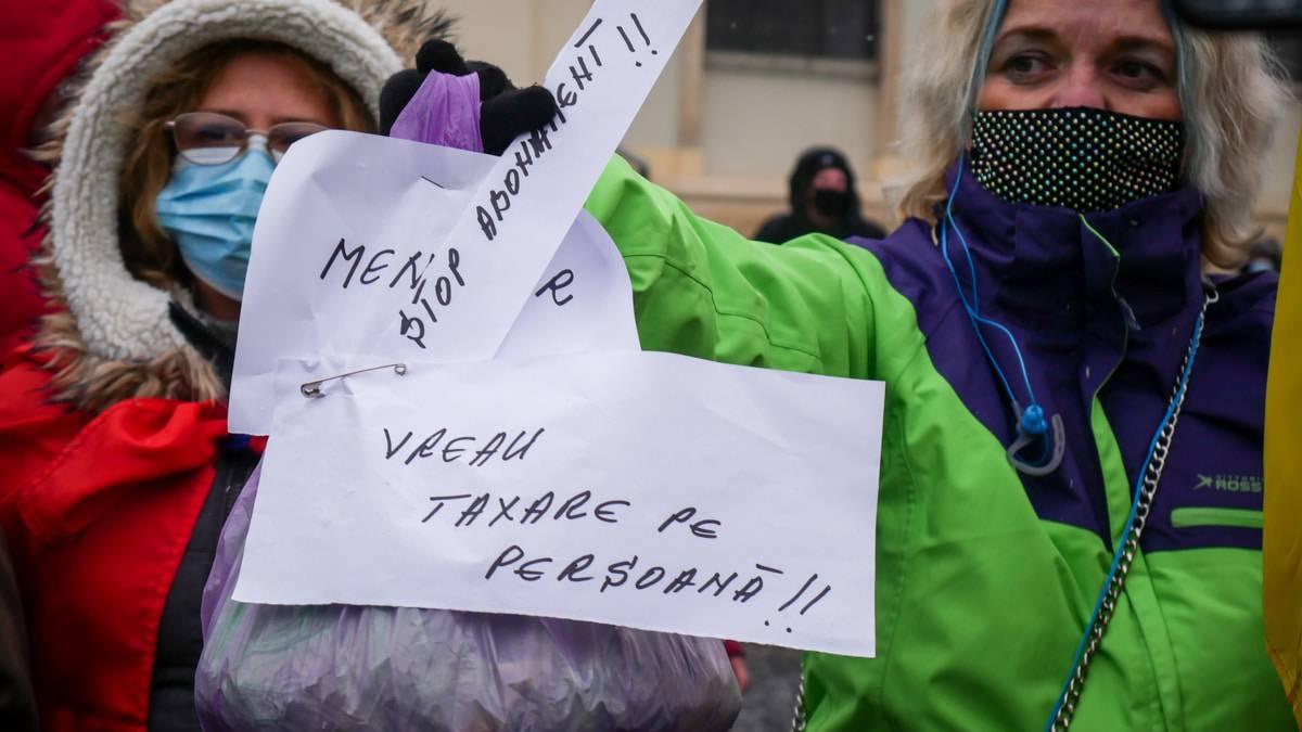 Protest Gunoaie Piata Mare 21
