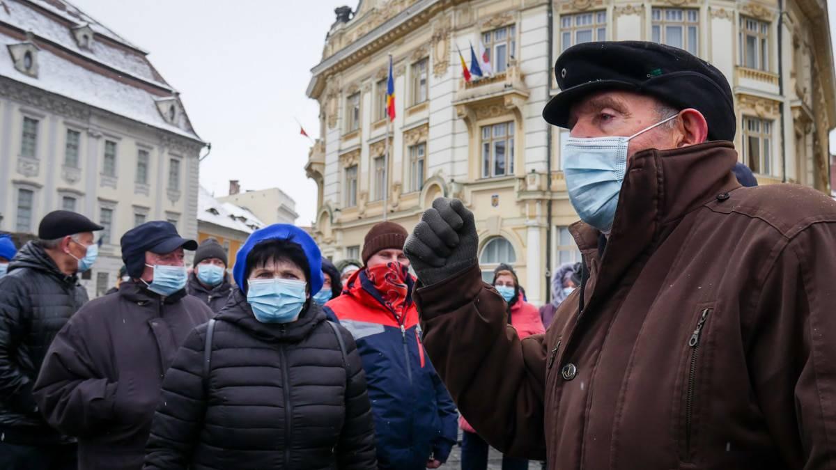 Protest Gunoaie Piata Mare 22