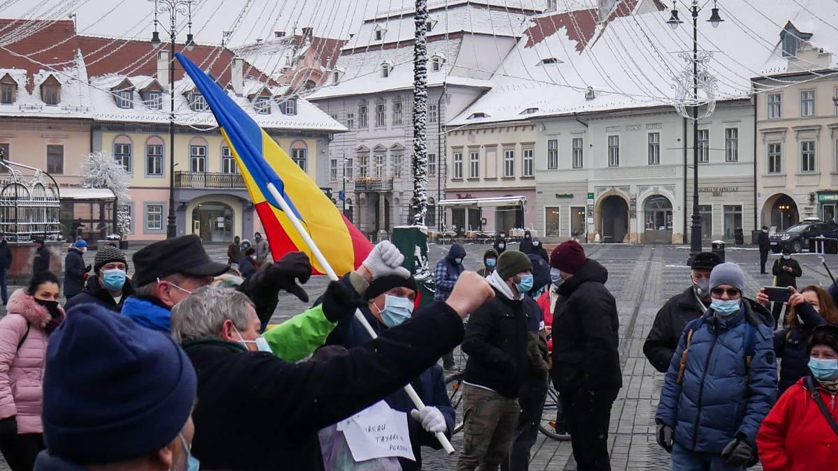 Protest Gunoaie Piata Mare 24
