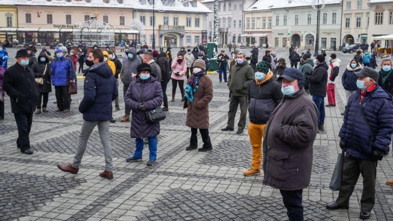 Protest Gunoaie Piata Mare 4