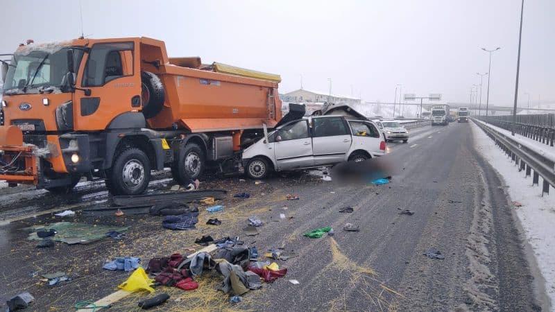 accident autostrada masina deszapezire 2