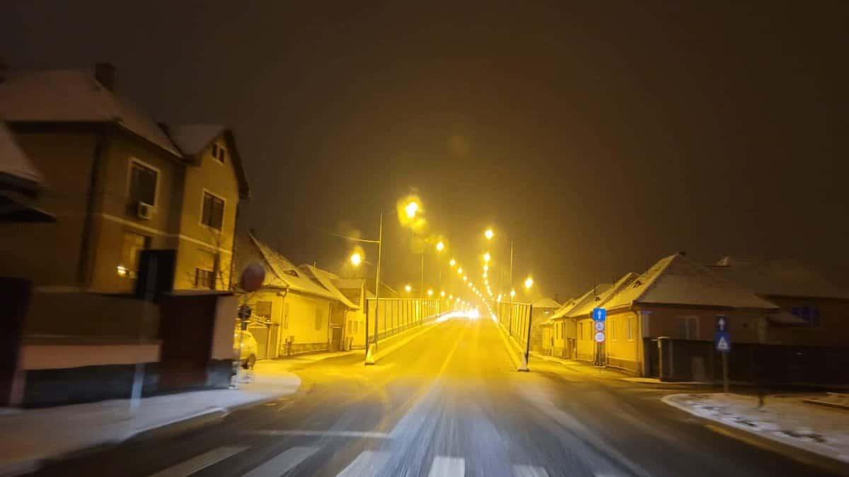 trafic iarna sibiu noaptea 10
