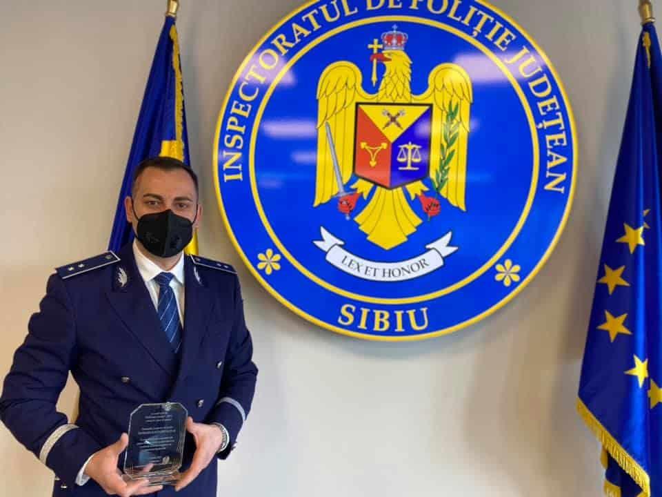 politist anului 2020