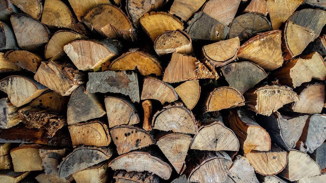 6 lemne bucati mici uscare rapida